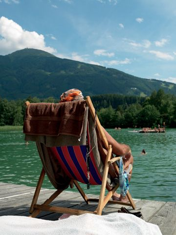 A few kilometers away - the Lansersee, free entry for our guests! - Ampass Tirol