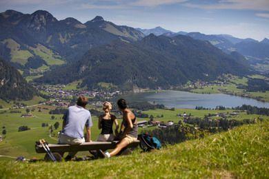 Wunderschöner Blick auf den Walchsee - Kaiserwinkl Tirol