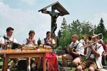 OÖ. großes Volksmusikantentreffen am Hongar 29. Juli 2012 - Aurach am Hongar Oberoesterreich