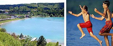 Badesee Regau Image - Lacul pentru inot Regau Regau