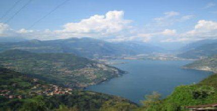 Lago  d'Iseo  (Iseosee) Iseo