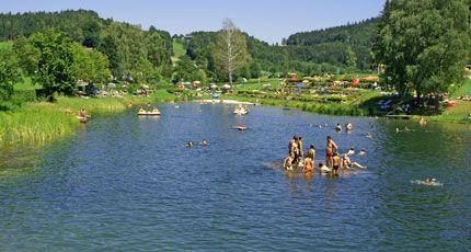 Badesee Rechberg Image - Lacul pentru inot Rechberg Rechberg