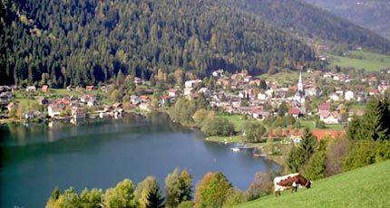 Brennsee Lake (Feldsee Lake) Image - Lacul Brennsee  (Feldsee) Feld am See