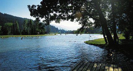 Badesee Brixen Image - Lacul pentru inot Brixen Brixen im Thale