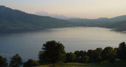 Lake Zug Central Switzerland