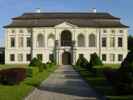 Schloss Hohenbrunn, einziger Profanbau des berühmten Barockbaumeisters Jakob Prandtauer - St. Florian Oberoesterreich