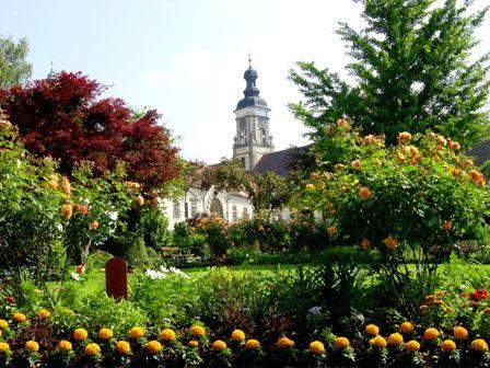 Ein Besuch lohnt sich im Literaturgarten beim Stift St. Florian - St. Florian Oberoesterreich
