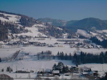 Winterlandschaft Gnesau - Nockberge/Bad Kleinkirchheim Kaernten