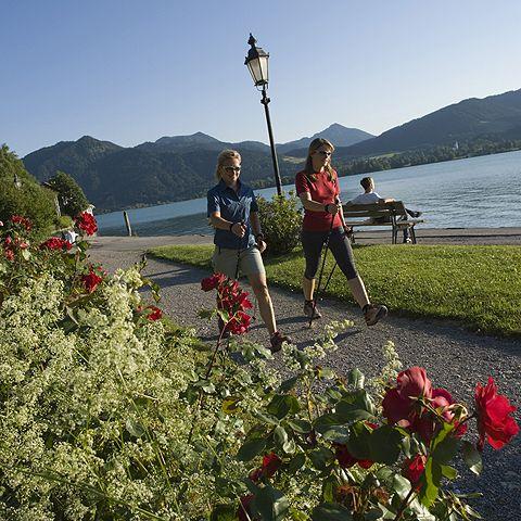 Nordic Walking am Tegernsee - Tegernseer Tal Bayern