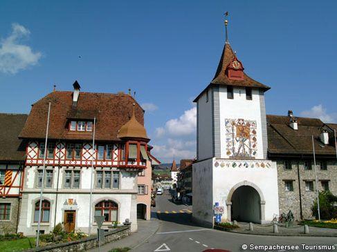 Sempachersee Zentralschweiz