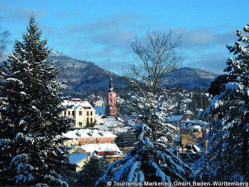 Baden-Baden Stadtansicht - Baden-Wuerttemberg