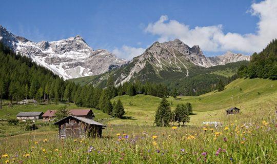 Zalimtal im Brandnertal - Alpenregion Bludenz   Vorarlberg