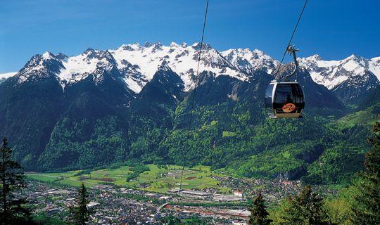 Muttersberg in Bludenz/Nüziders - Alpenregion Bludenz   Vorarlberg