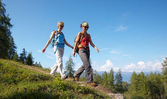 Wanderurlaub in den Vorarlberger Bergen - Alpenregion Bludenz   Vorarlberg