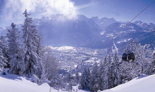 Alpenstadt Bludenz im Winter - Bludenz Vorarlberg