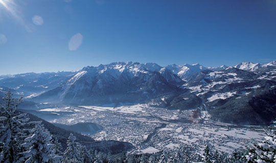 Winterpanorama - Bludenz Vorarlberg