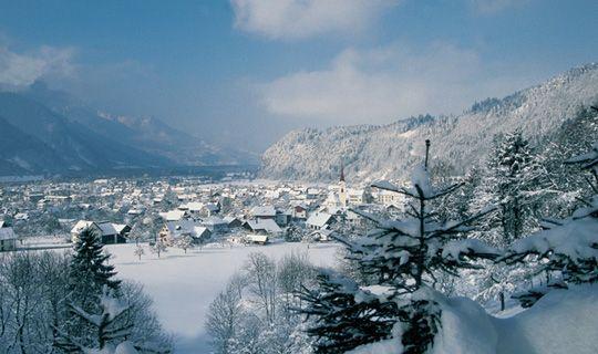 Nüziders im Winter - Nueziders Vorarlberg