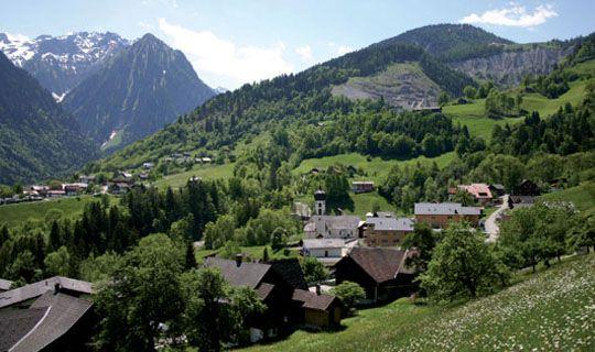Bürserberg im Sommer - Buerserberg Vorarlberg