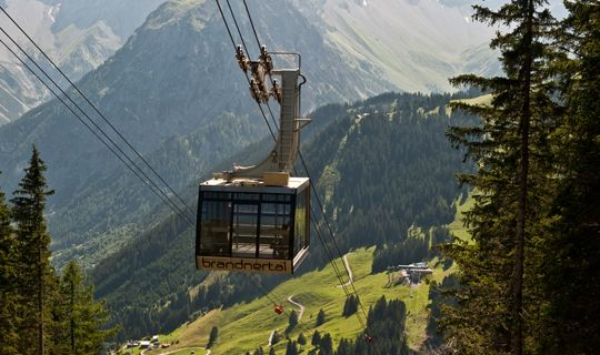Panoramabahn Brandnertal - Buerserberg Vorarlberg