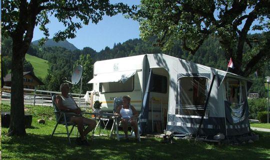 Schöne Stunden auf Heidi's Campingplatz - Buerserberg Vorarlberg