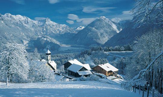 Bürserberg im Winter - Buerserberg Vorarlberg