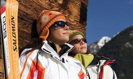 Einfach die Sonne genießen... - Buerserberg Vorarlberg