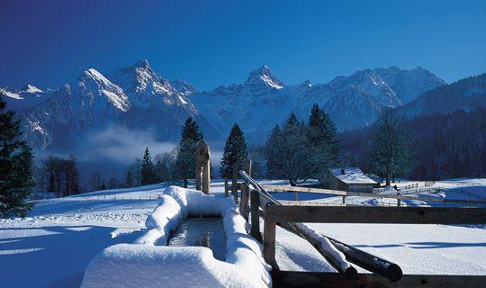 Winterlanschaft Tschengla - Brand Vorarlberg