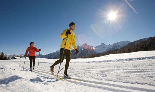 Langlaufen auf den herrlichen Loipen des Brandnertales - Brand Vorarlberg