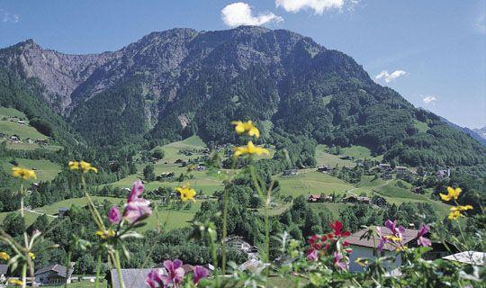 Dalaas im Sommer - Dalaas/Wald Vorarlberg