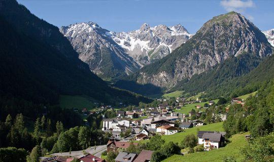 Brand im Sommer - Brandnertal Vorarlberg