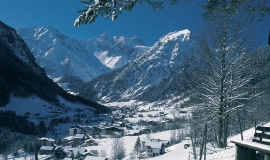 Brand im Winter - Brandnertal Vorarlberg