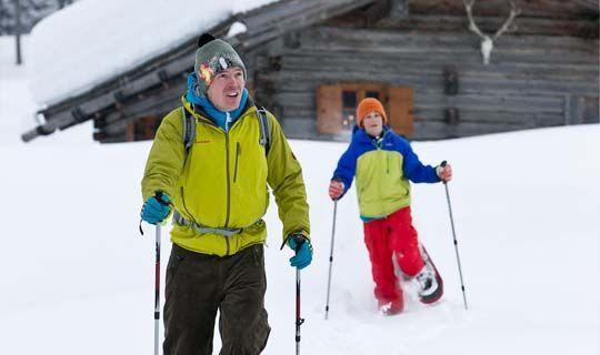 Abenteuerliches Winter- und Schneeschuhwandern im Brandnertal - Brandnertal Vorarlberg