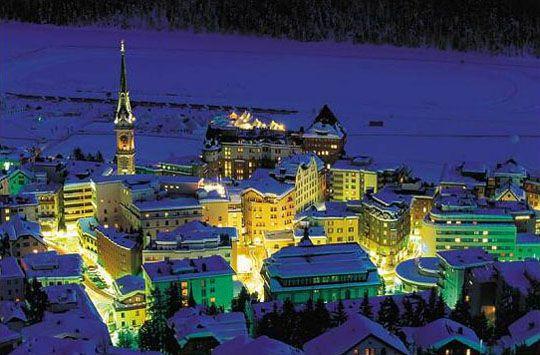 St. Moritz Graubuenden