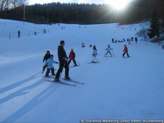 Albstadt, Skikurs in Albstadt-Trochtelfingen - Baden-Wuerttemberg