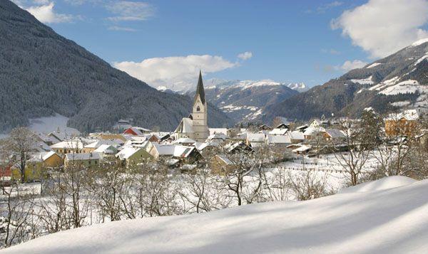 Blick auf Obervelalch - Obervellach Kaernten