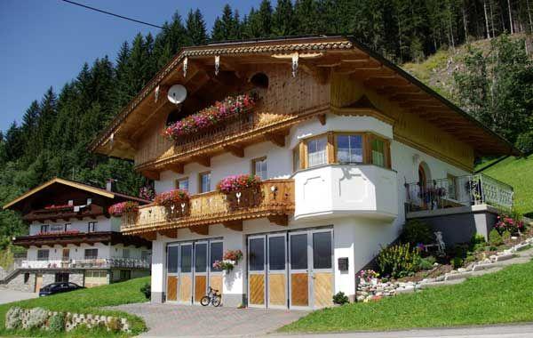 Unsere Ferienwohnung liegt im letzten Stock - Ferienwohnung Tummener Zell am Ziller, Zillertal Arena