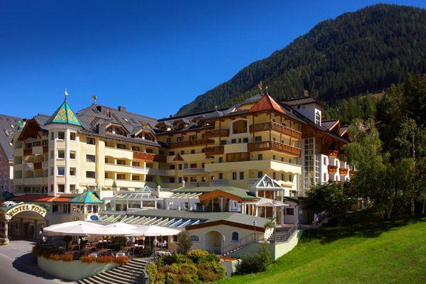 Sommeransicht - Hotel Post Ischgl