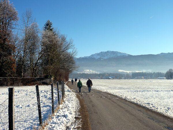 Benediktbeuern im Winter - Benediktbeuern Bayern