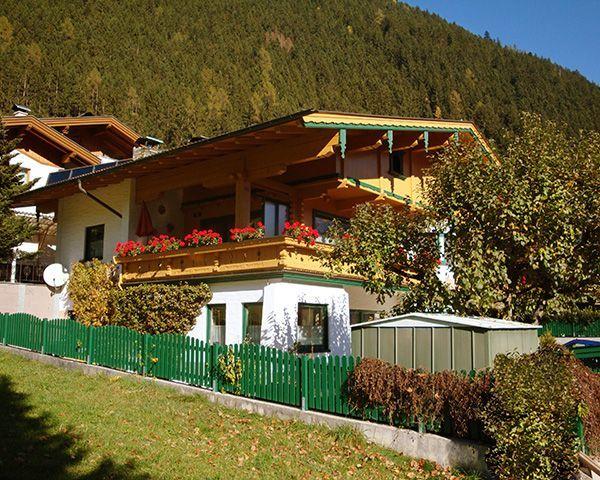 Sommeransicht - Appartementhaus Zillertal Finkenberg