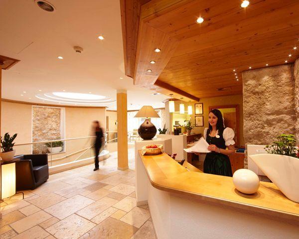 Empfang - Reception - Hotel Alphof Soelden Soelden