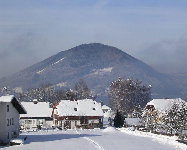 Blick nach Attersee - Attersee Region Oberoesterreich