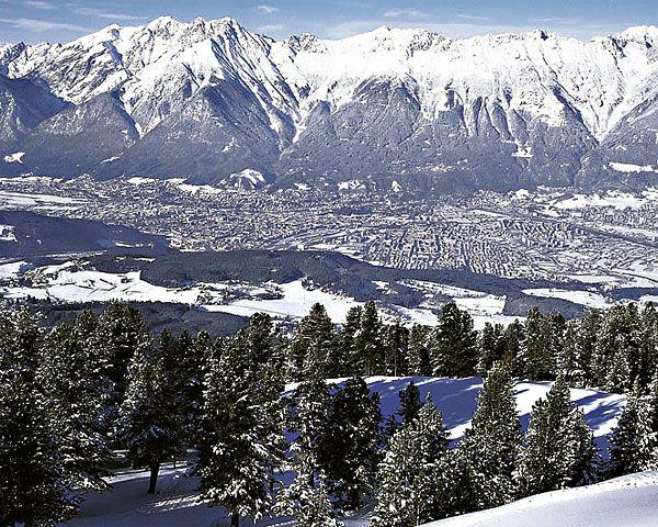 Innsbruck im Winter Foto: Mallaun / © ÖW