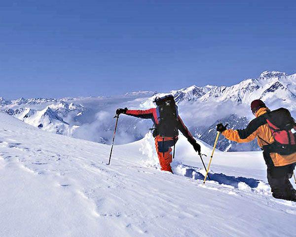 Touren gehen in Kaltenberg / Arlberg Foto: © Archiv Vorarlberg Tourismus / Marco Mathis