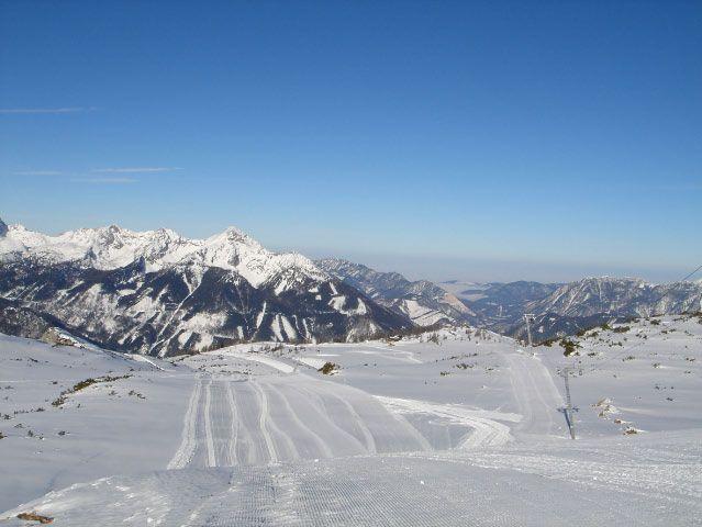 Bild: Mit den Schleppliften auf den Schafkogel auf über 2.000 Metern Seehöhe! - Hinterstoder Oberoesterreich