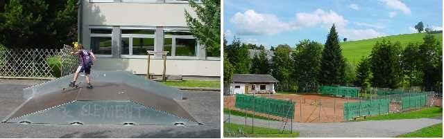 Sport: Tennisplatz, Skateranlage, Beach Volleyballplatz u.v.m. - Lembach Oberoesterreich