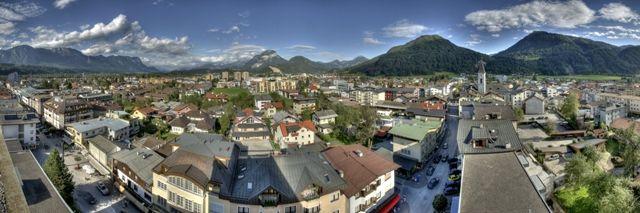Panorama der Stadt Wörgl. - Woergl Tirol
