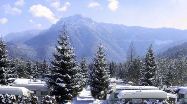 Einmaliges Panorama - Camping Gippelblick Kernhof St. Aegyd am Neuwalde