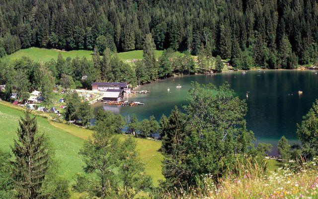 Bild: Der Gleinkersee, ein bezaubernder Voralpensee, ist der richtige Ort zum Durchatmen und die Seele baumeln lassen. Entdecken Sie dieses Naturjuwel - Spital  am  Pyhrn Upper Austria
