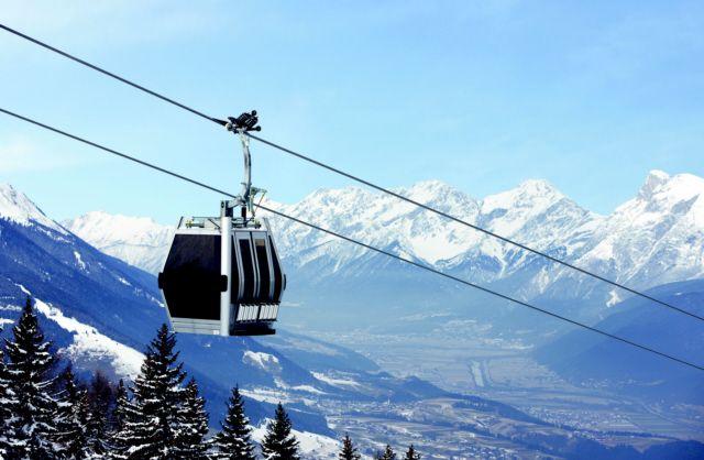 Bequem mit der Gondel von Götzens aufs Pfriemesköpfl - Goetzens Tirol