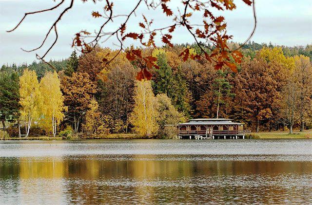 Herbststimmung am Edlersee - Geras Niederoesterreich